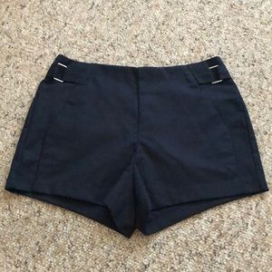 Forever 21 Navy High Waisted shorts!